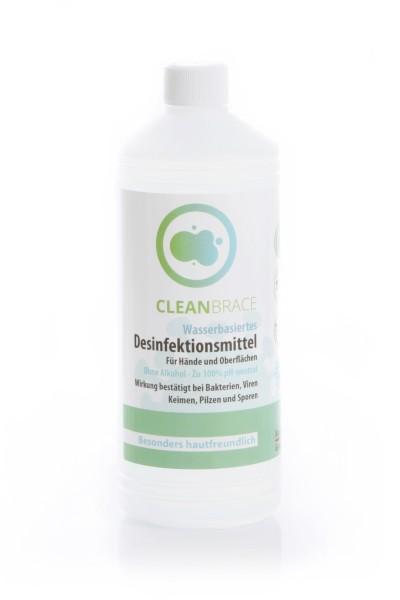 Desinfektionsmittel 1 Liter in der Flasche- wasserbasiert & hautfreundlich